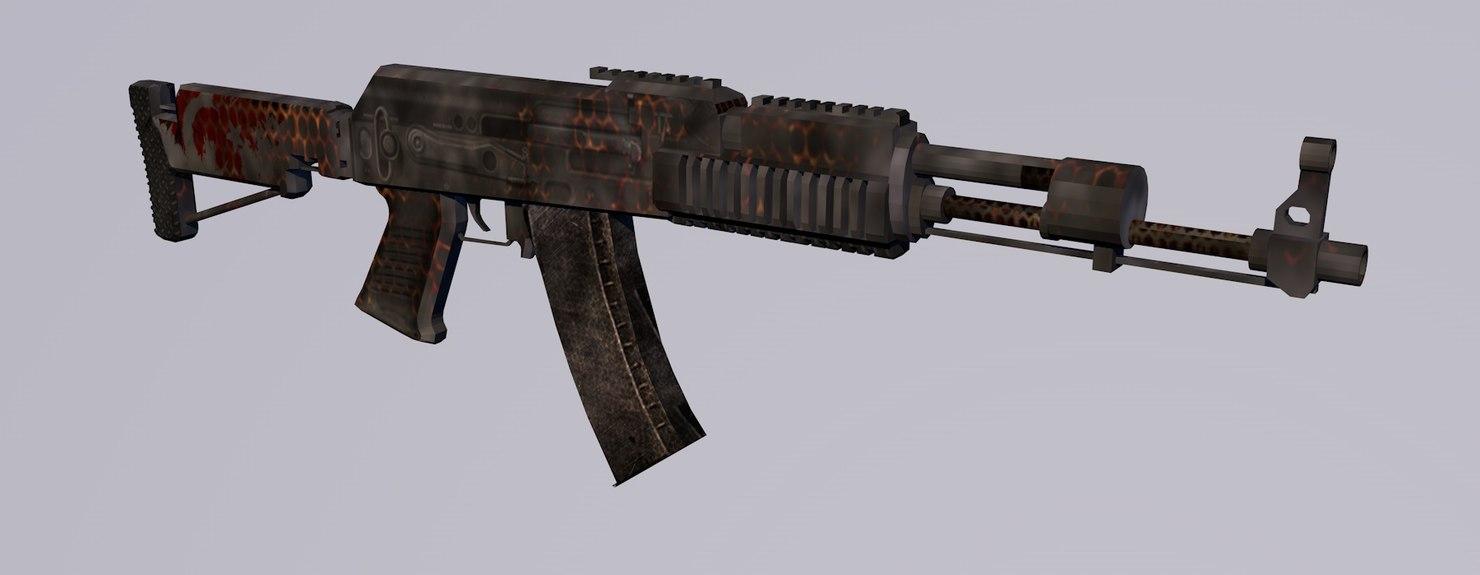 ak - 337 3d 3ds