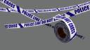 barricade tape 3D models