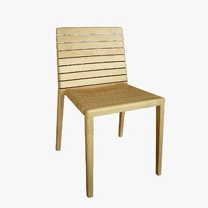 rip chair 3d max