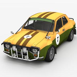 3d model race car