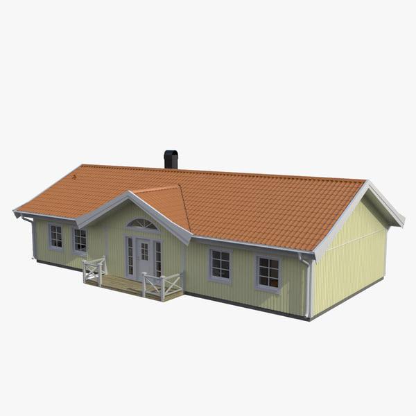 3d model of interior home