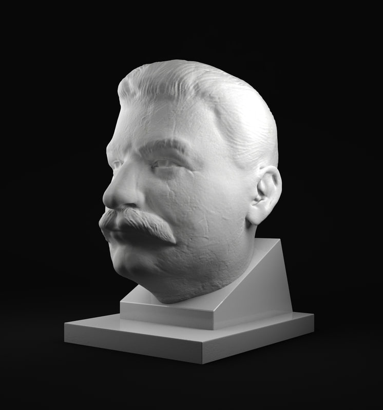 3ds max bust stalin