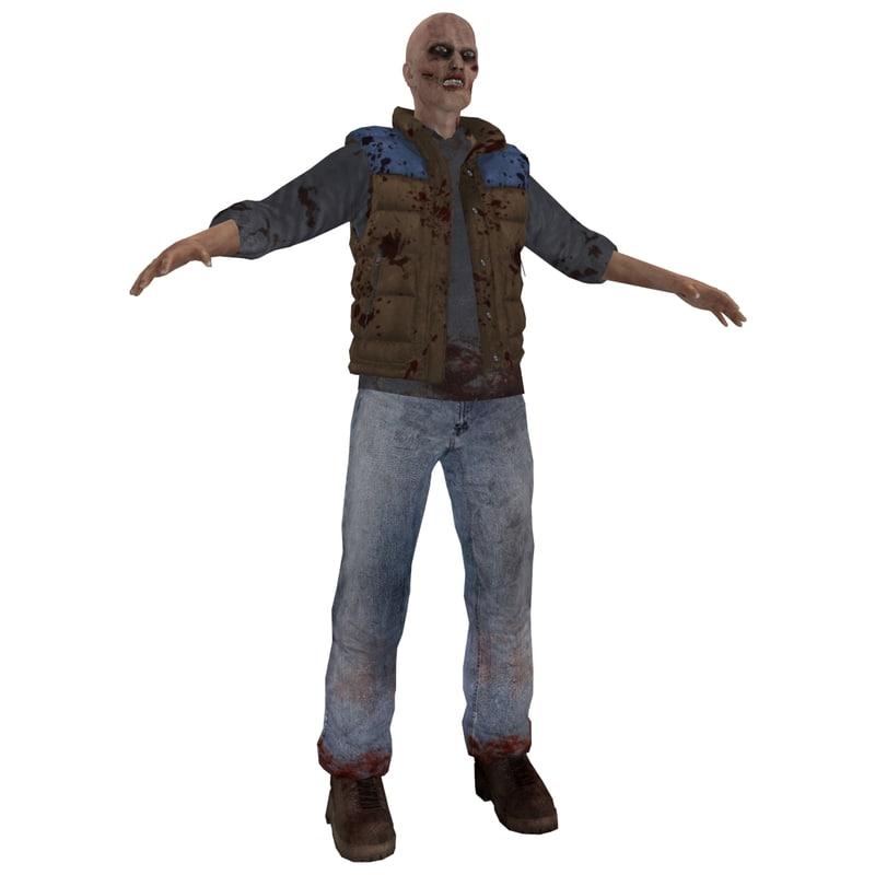 3d max zombie