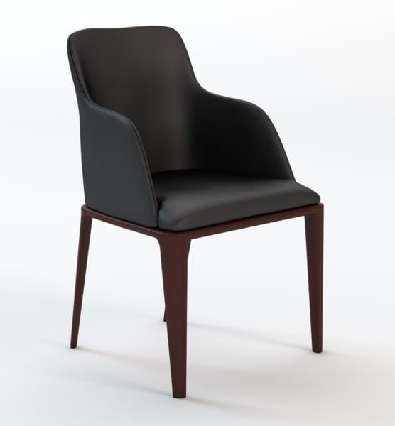 3dsmax grace dining chair