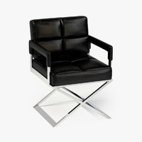 3d model eichholtz chair desk cross