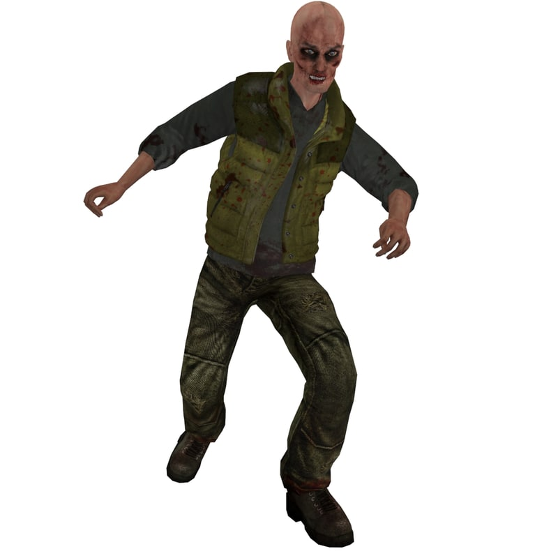 rigged zombie max