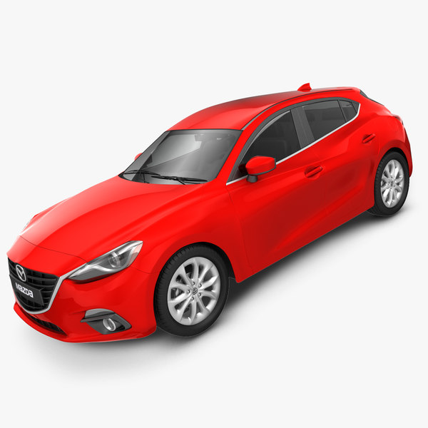 mazda 3 hatchback 2014 3ds