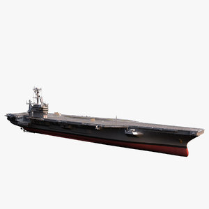 cvn 74 c aircraft carrier 3d obj