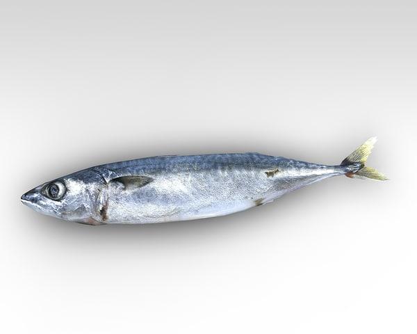 3dsmax fish