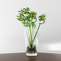 vase bamboo 3d 3ds