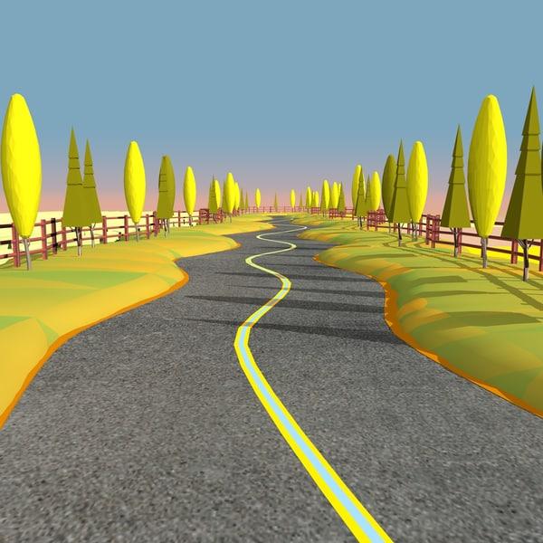 cartoon road 3ds