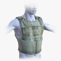 Lowpoly Bullet-Proof Vest