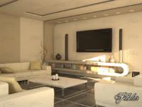 c4d living room 10 day
