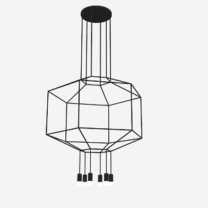 vibia wireflow wire 3d 3ds