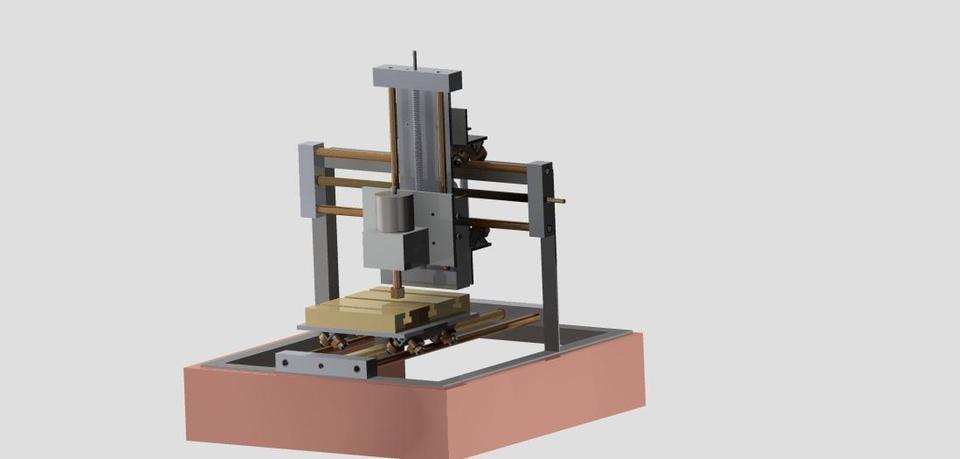 3d model cnc tabletop