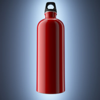 aluminium bottle fbx