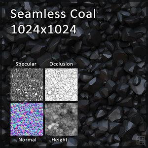 Cartoon Coal Texture