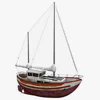 Sailboat Fisher 30 2