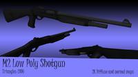 3d m2 shotgun