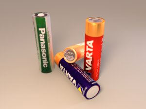 battery 3d 3ds