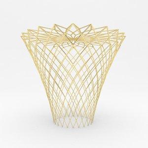 mesh stool 2 3d model