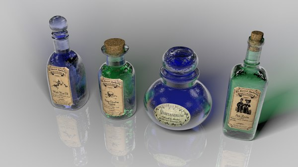 witch apothecary obj