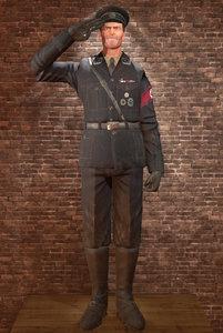 3d model character nazi general