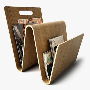 3ds magazine rack