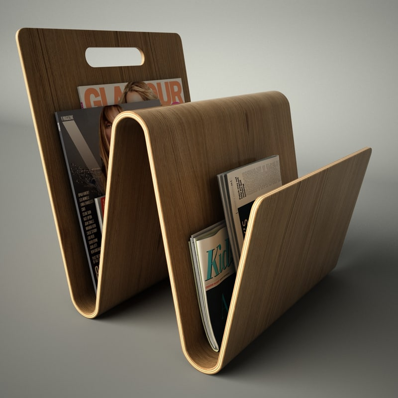 3ds magazine rack