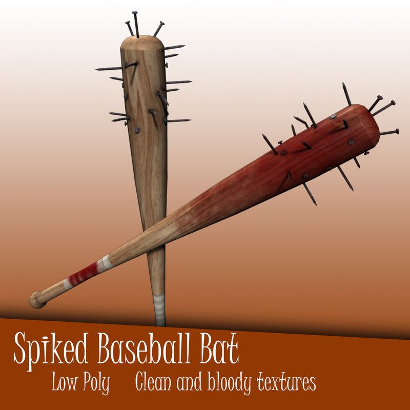Spiked Nail Baseball Bat