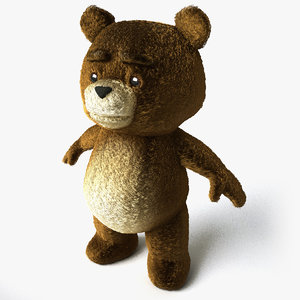 3ds max teddy bear
