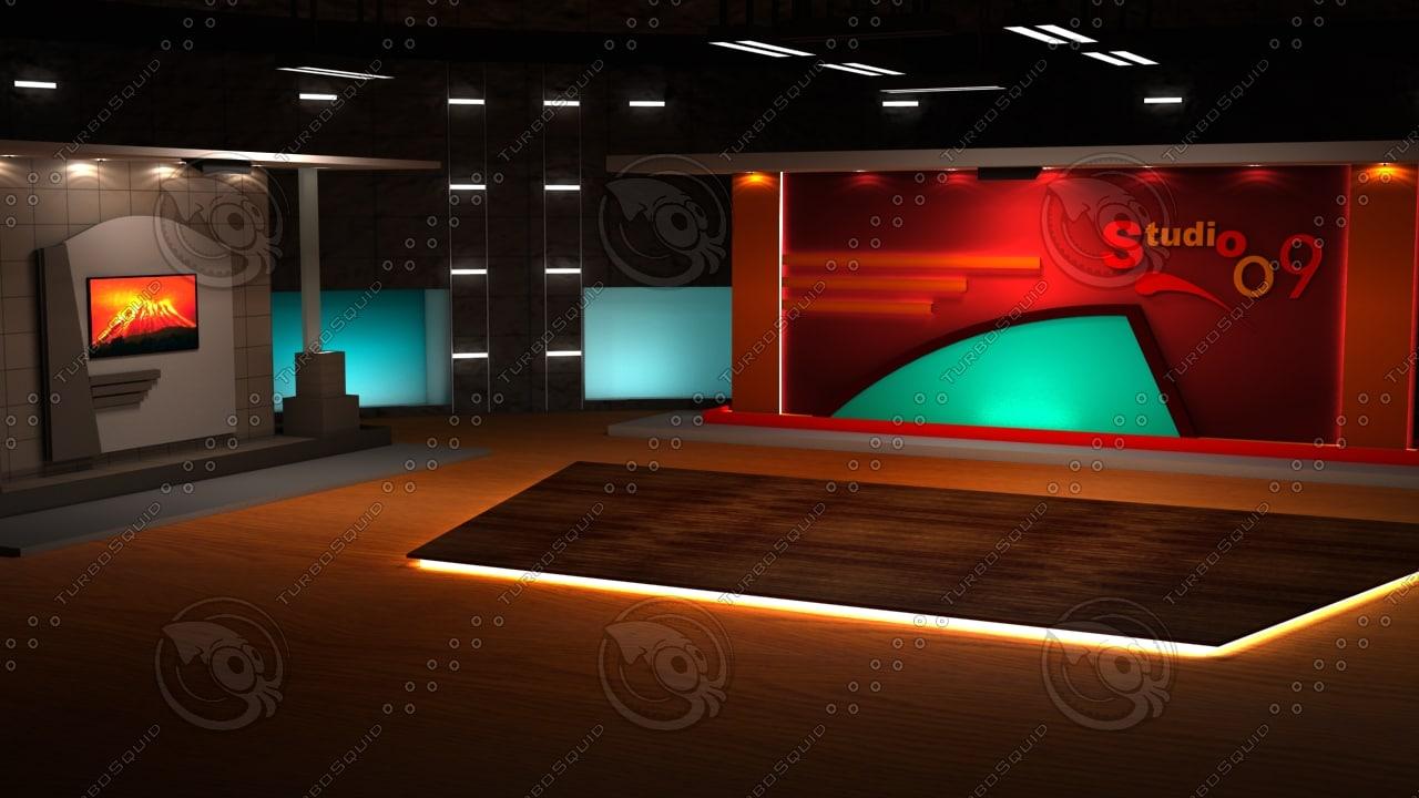 virtual set 3d 3ds