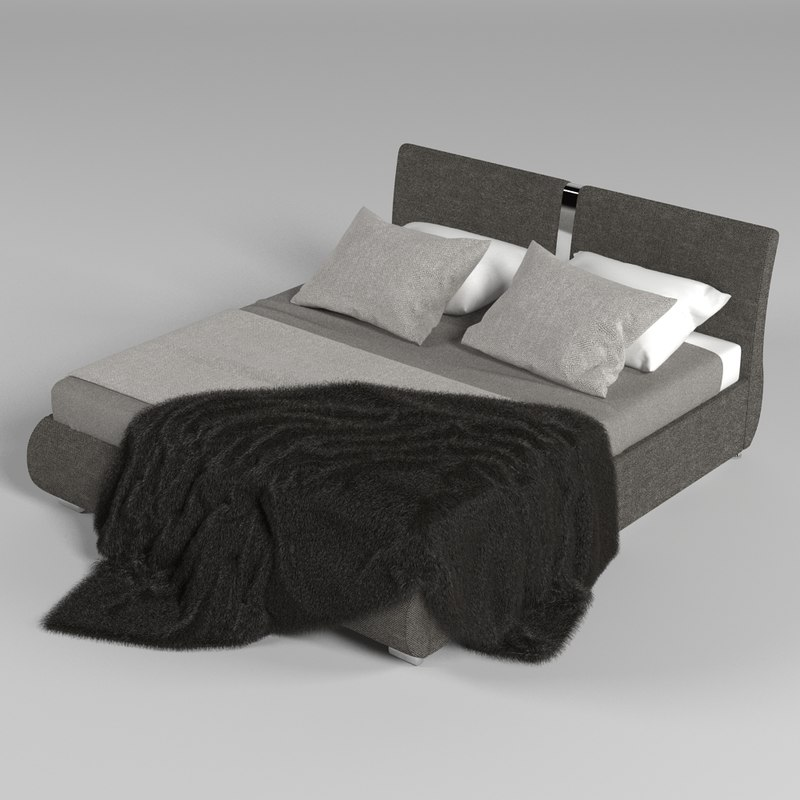 model bed realistic