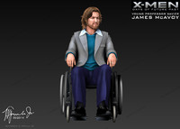 3d james mcavoy professor xavier model