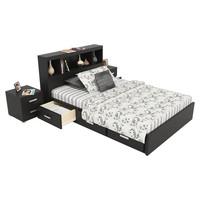 3d bed-1 bed model