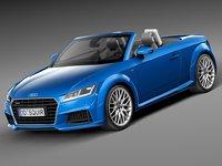 3d 2015 roadster audi