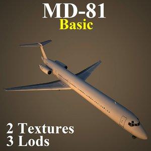 3d mcdonnell douglas basic