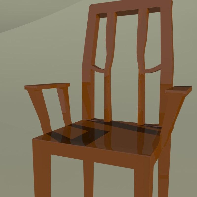 3d max stool