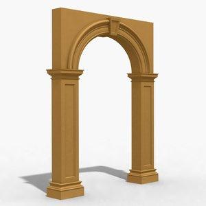 arch 1 3d 3ds