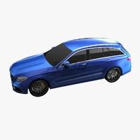 3d wagon c63 l3 model