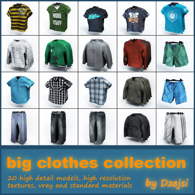 maya big clothes set