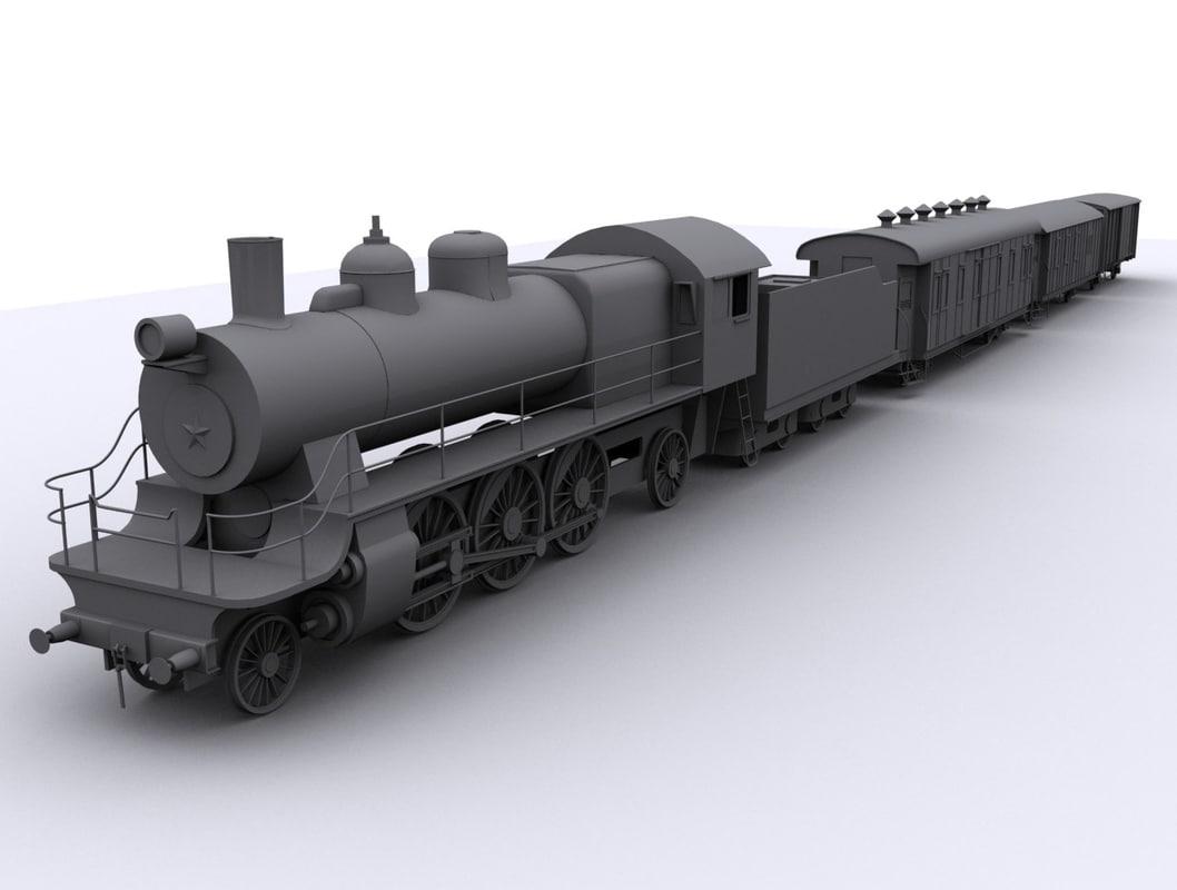 steam locomotive max