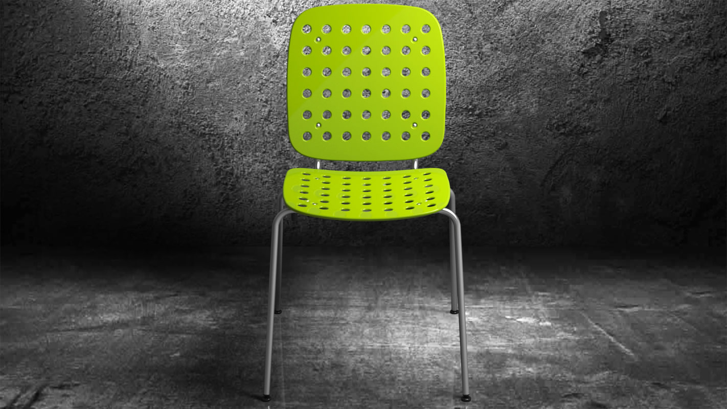 chair coray obj