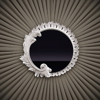 Belloni Subliminal - Effigie Round Mirror