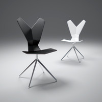 3d model tom-dixon y chair