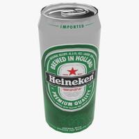 3d beer heineken