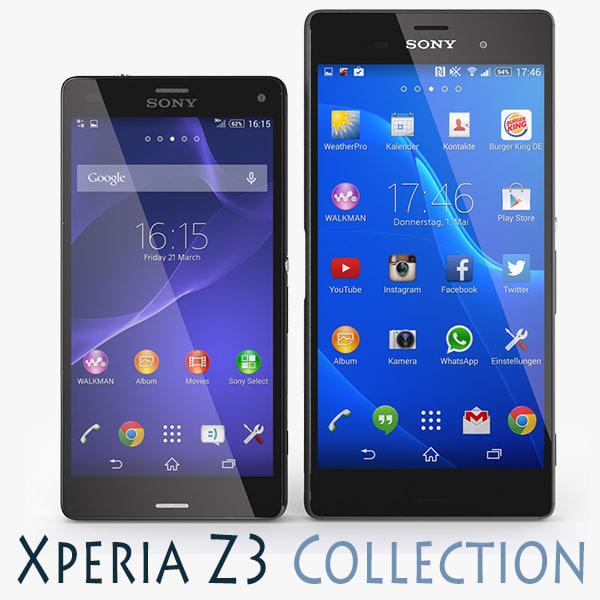 max sony xperia z3 black