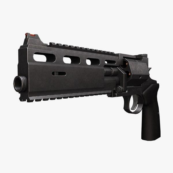 3d assault revolver rsh-12 12 model
