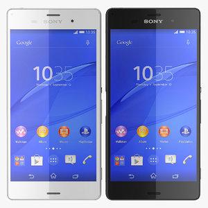 3d new sony xperia z3
