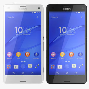 3d model sony xperia z3 compact